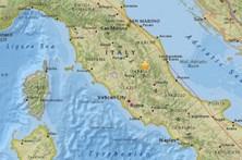 Sismo de magnitude 5,4 em Itália