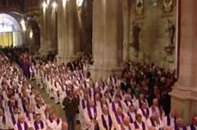 Missa traduzida em língua gestual