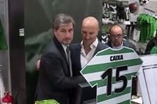 """Bruno de Carvalho espera Sporting """"campeão"""""""