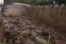 Enxurrada de lama na Madeira