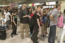 Vigilantes em greve alarmam aeroportos