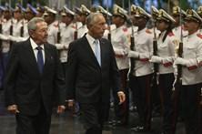Marcelo e Raúl Castro querem reforçar relações entre Portugal e Cuba