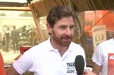 André Vilas Boas em corrida de motas