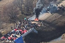 Detidas 117 pessoas nos EUA em protesto contra oleoduto