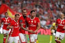 As melhores imagens do Benfica-Paços de Ferreira