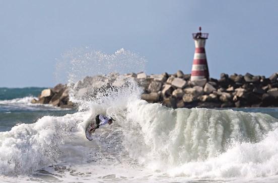 Campeonato mundial de surf em Peniche