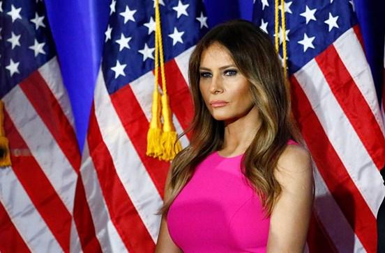 Enteada ofusca Melania Trump