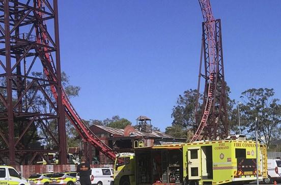 Quatro mortos em acidente em parque temático