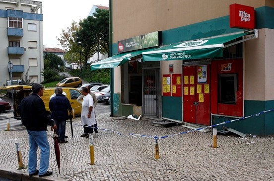 Explosão em assalto na Amadora