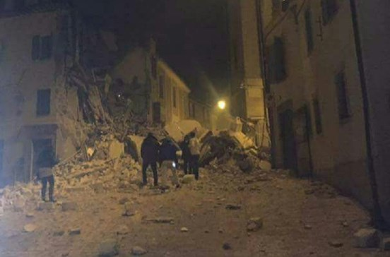 Novo sismo sentido em Itália
