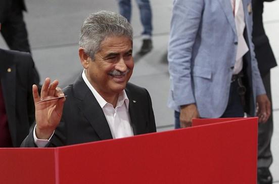 Luís Filipe Vieira já votou nas eleições do Benfica