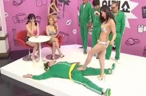 Medição de ereções dá concurso de televisão