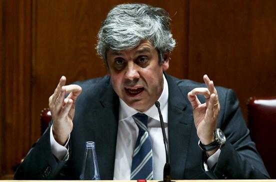 Previsões do Governo até são muito prudentes, diz Centeno a Bruxelas
