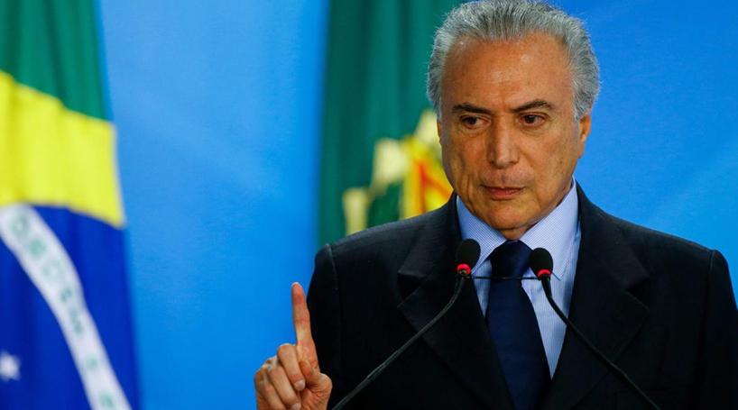 Temer cancela compromissos no Japão e antecipa regresso ao Brasil