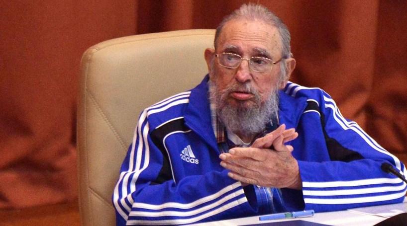Fatos de treino Adidas valeram a Fidel acusações de incoerência