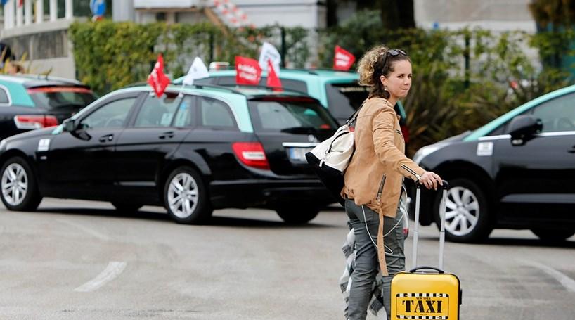 Lutas dos taxistas: uma corrida antiga