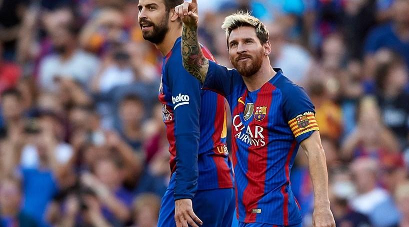 Messi carimba regresso com um golo