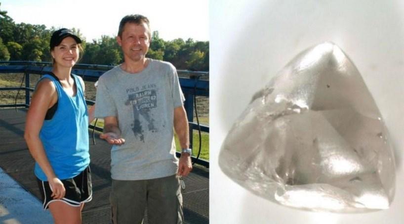 Descobrem diamante em parque dos EUA