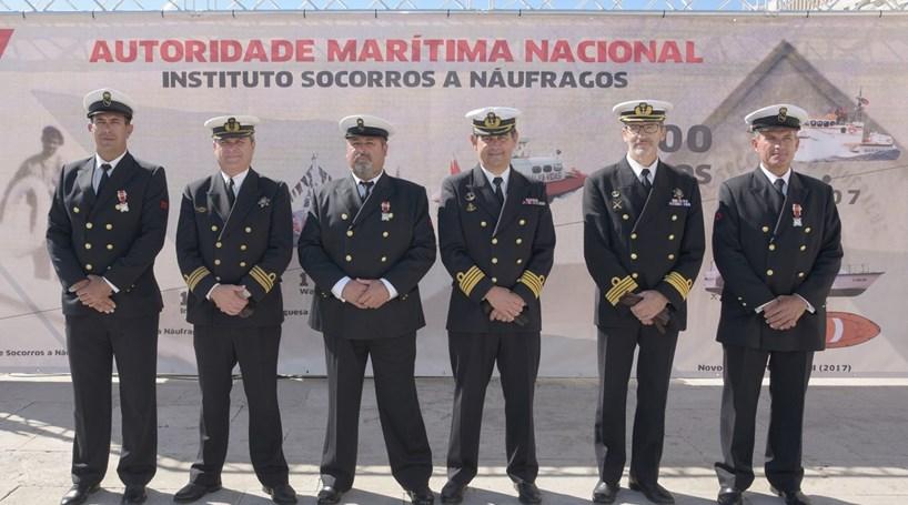 Medalha por coragem distingue salva-vidas