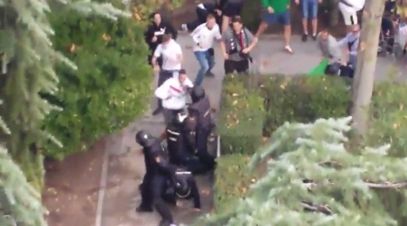 Polícia espanhola detém 13 adeptos do Legia