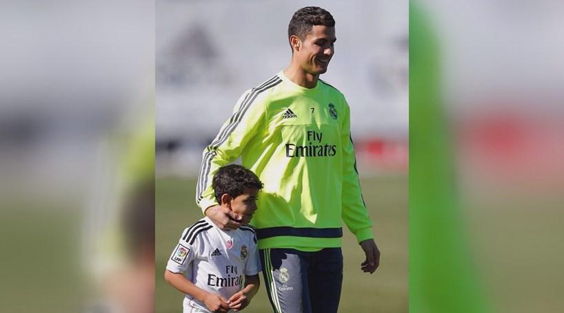 Cristiano Ronaldo quer filho longe do Real Madrid