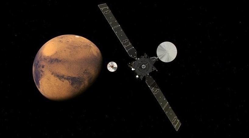 Sonda em Marte com isolamento térmico feito em Portugal