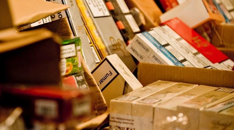 GNR apreende 1,2 milhões em tabaco ilegal