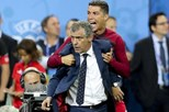 Ronaldo e Fernando Santos nomeados para os 'Globe Soccer'