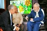 Marcelo ausente de funeral de Fidel