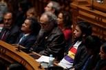 Bloco e PCP não aplaudiram Rei de Espanha no Parlamento