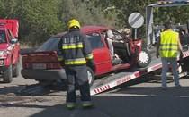 Dois mortos em choque entre carro e camião