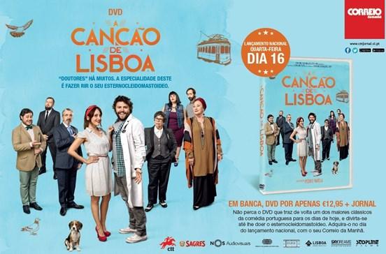 DVD A Canção de Lisboa
