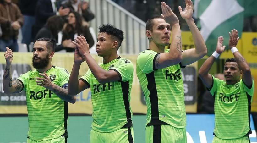 Sporting goleia e fica em vantagem na UEFA Futsal Cup