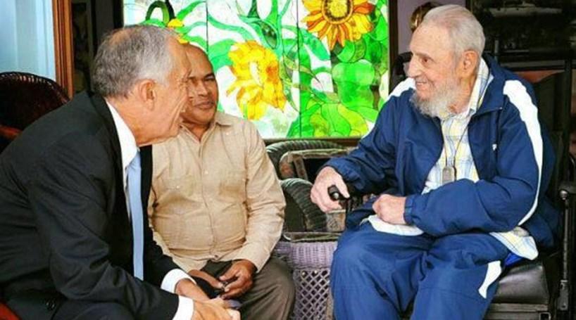 Marcelo Rebelo de Sousa esteve há um mês com Fidel Castro