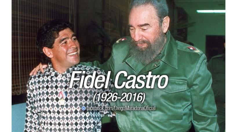 """Maradona lamenta a morte do """"segundo pai"""""""