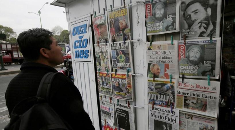 A morte de Fidel Castro na imprensa internacional