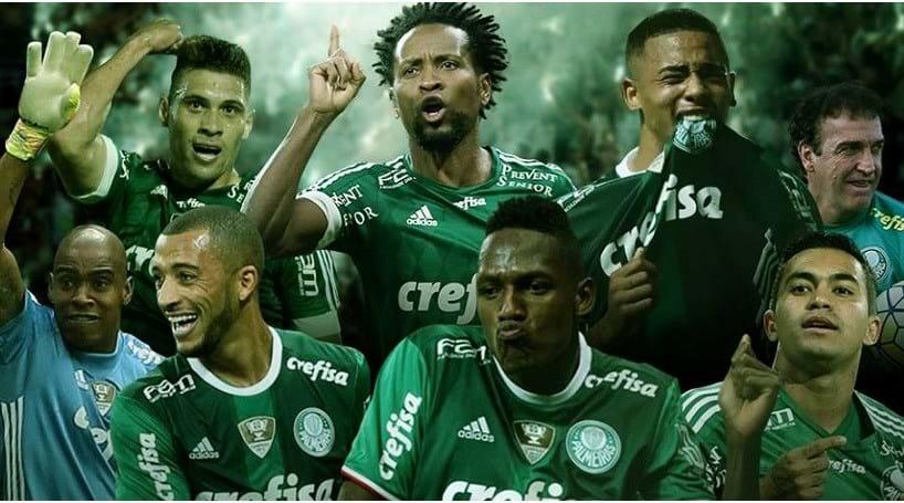 Palmeiras é campeão do Brasil 22 anos depois