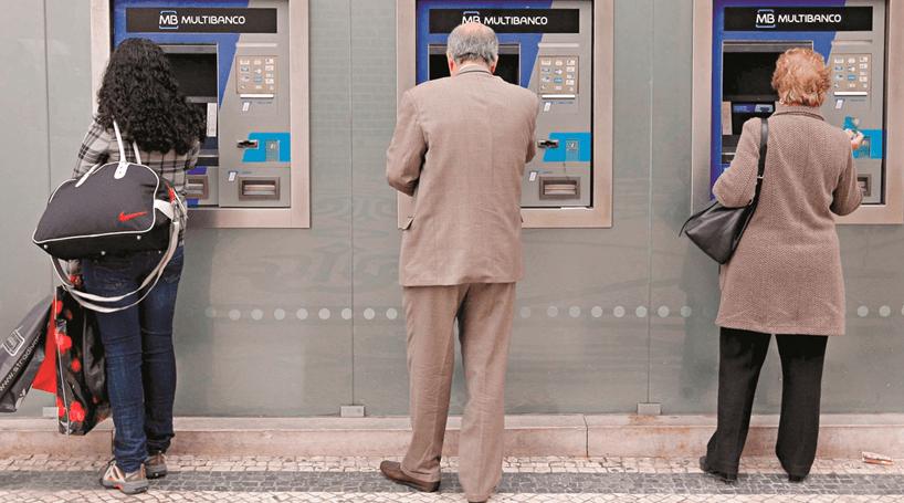 Ataque às contas no multibanco