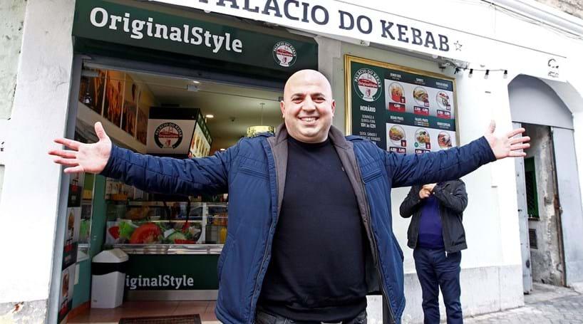 'Herói do Kebab' volta a Portugal sem medo