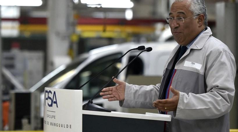 António Costa exorta empresários a instalarem-se próximo da fronteira