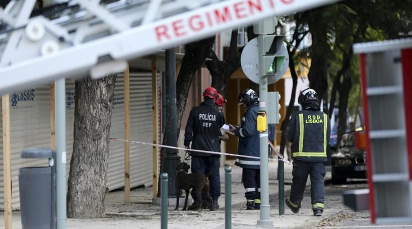 Empresa responsável pela obra onde ocorreu derrocada em Lisboa pediu inquérito