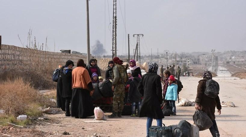 Há 50 mil deslocados em Alepo