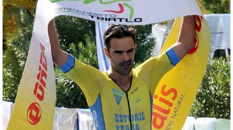 Bruno Pais revalida título nacional de triatlo de longa distância