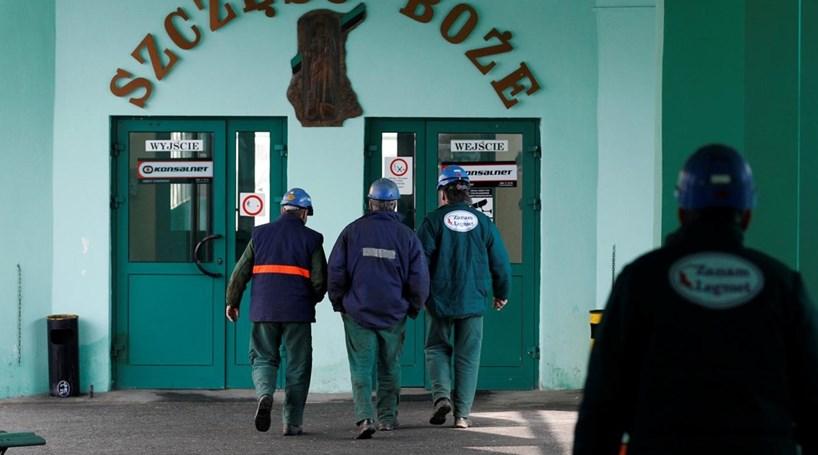 Sismo em mina na Polónia faz três mortos