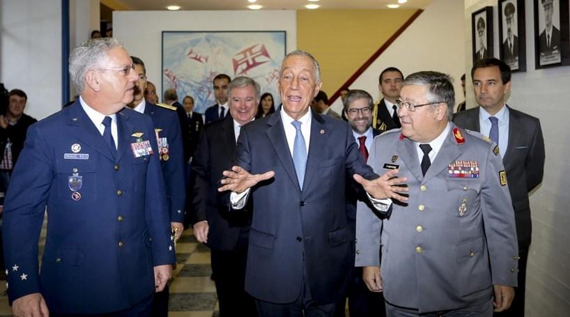 """Marcelo defende """"respeito"""" para a instituição militar"""