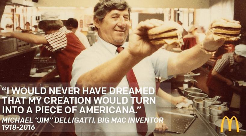 Morreu o criador do Big Mac
