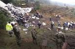 Autoridades confirmam que avião caiu sem combustível