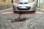 Pilarete da EMEL danifica carro