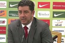 Rui Vitória diz que falta de eficácia do Benfica fez a diferença