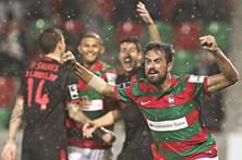 Veja as melhores fotos do Marítimo-Benfica